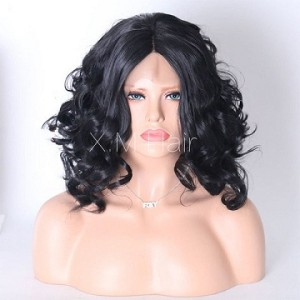 Synthetic Lace Front Wig With Natural Hairline NO.11