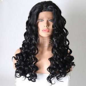 Synthetic Lace Front Wig With Natural Hairline NO.12
