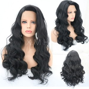 Synthetic Lace Front Wig With Natural Hairline NO.19