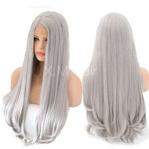 Synthetic Lace Front Wig With Natural Hairline NO.22