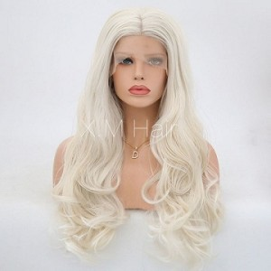 Synthetic Lace Front Wig With Natural Hairline NO.24