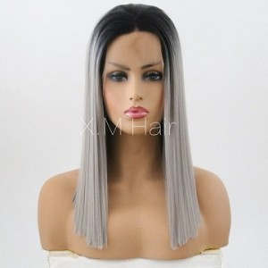Synthetic Lace Front Wig With Natural Hairline NO.25