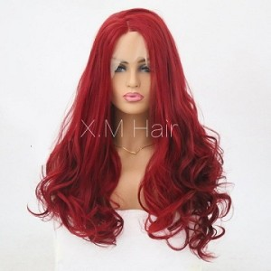 Synthetic Lace Front Wig With Natural Hairline NO.27