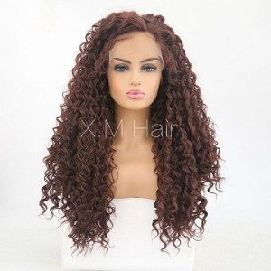 Synthetic Lace Front Wig With Natural Hairline NO.35