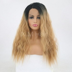 Synthetic Lace Front Wig With Natural Hairline NO.44