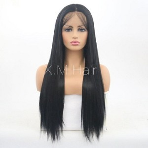 Synthetic Lace Front Wig With Natural Hairline NO.47