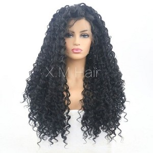 Synthetic Lace Front Wig With Natural Hairline NO.48