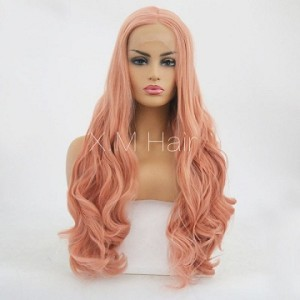 Synthetic Lace Front Wig With Natural Hairline NO.50