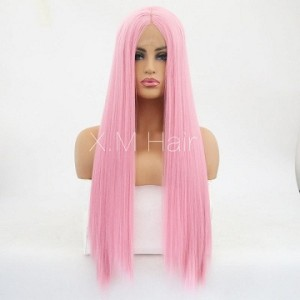 Synthetic Lace Front Wig With Natural Hairline NO.52