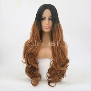 Synthetic Lace Front Wig With Natural Hairline NO.57