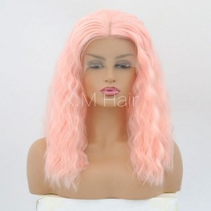 Synthetic Lace Front Wig With Natural Hairline NO.58