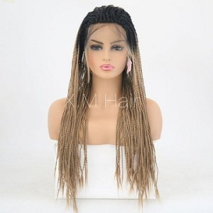 Synthetic Lace Front Wig With Natural Hairline NO.65