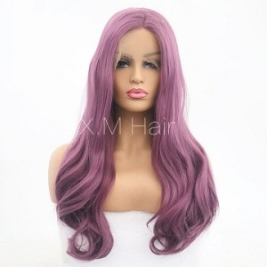 Synthetic Lace Front Wig With Natural Hairline NO.67