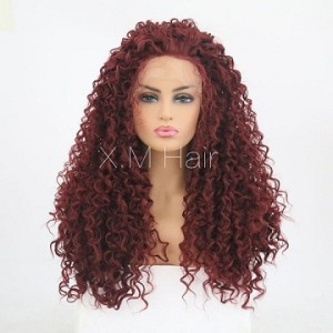 Synthetic Lace Front Wig With Natural Hairline NO.66