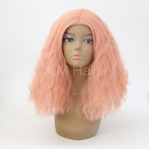 Synthetic Lace Front Wig With Natural Hairline NO.72
