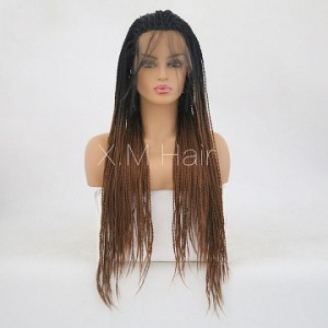 Synthetic Lace Front Wig With Natural Hairline NO.75