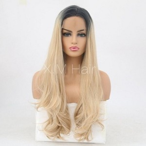 Synthetic Lace Front Wig With Natural Hairline NO.77