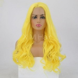 Synthetic Lace Front Wig With Natural Hairline NO.78