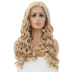 Synthetic Lace Front Wig With Natural Hairline NO.79