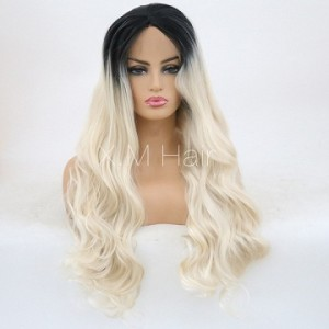 Synthetic Lace Front Wig With Natural Hairline NO.81