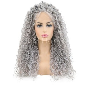 Synthetic Lace Front Wig With Natural Hairline NO.82