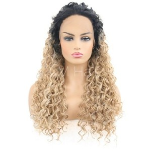Synthetic Lace Front Wig With Natural Hairline NO.83