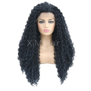Synthetic Lace Front Wig With Natural Hairline NO.84