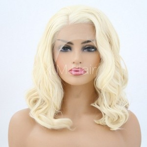 Synthetic Lace Front Wig With Natural Hairline NO.85