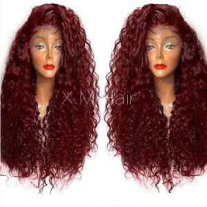 Synthetic Lace Front Wig With Natural Hairline NO.88
