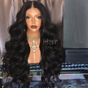 Synthetic Lace Front Wig With Natural Hairline NO.90