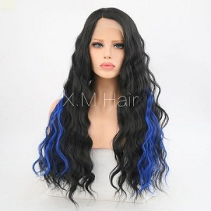 Synthetic Lace Front Wig With Natural Hairline NO.95