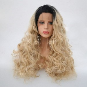 Synthetic Lace Front Wig With Natural Hairline NO.98