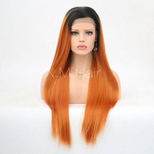 Synthetic Lace Front Wig With Natural Hairline NO.100