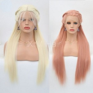 Synthetic Lace Front Wig With Natural Hairline NO.117