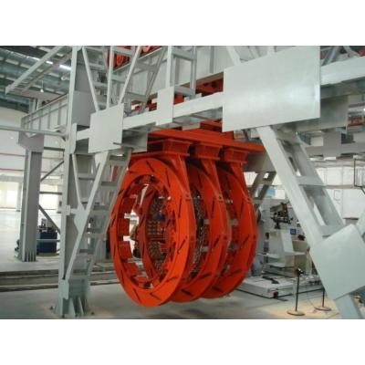Huge OTR All-steel radial tire building machine LCG-E4951