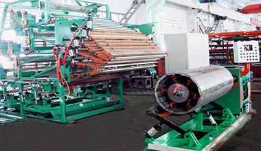 Simple type band building machine