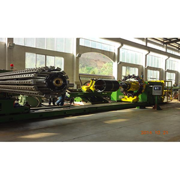 "OTR & AGR bias tire bladder turn-up tire building machine 24""-38"""
