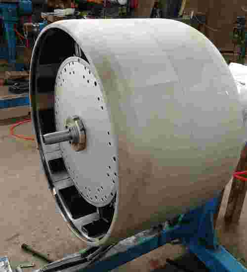First-stage tyre building drum