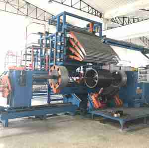 Ply servicer for tire building machine
