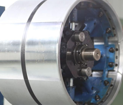 Rotary collapse first-stage carcass drum No.32