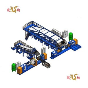 Radial agricultural tyre building machine 24