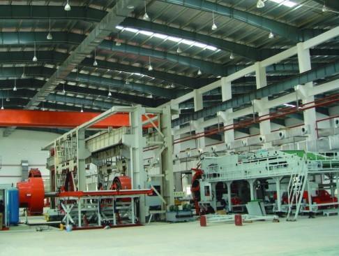Huge OTR All-steel radial tire building machine LCG-Y5763