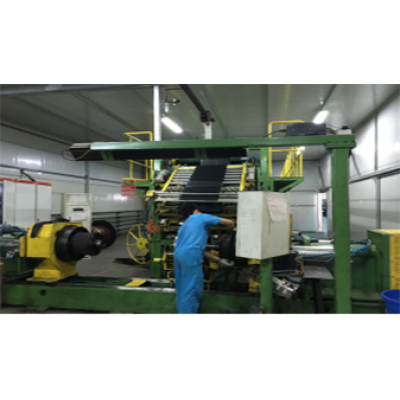 Two stages of LTR tire building machine LCY-1216 (first stage)