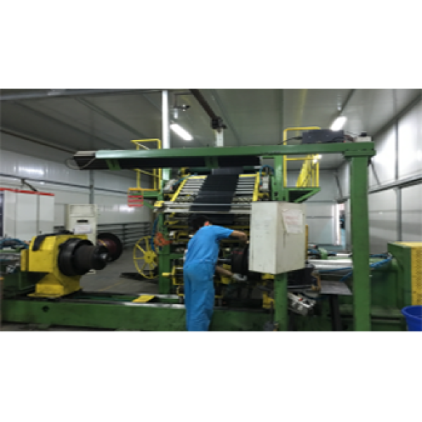 Two stages of LTR tire building machine LCE-1216 (second stage)