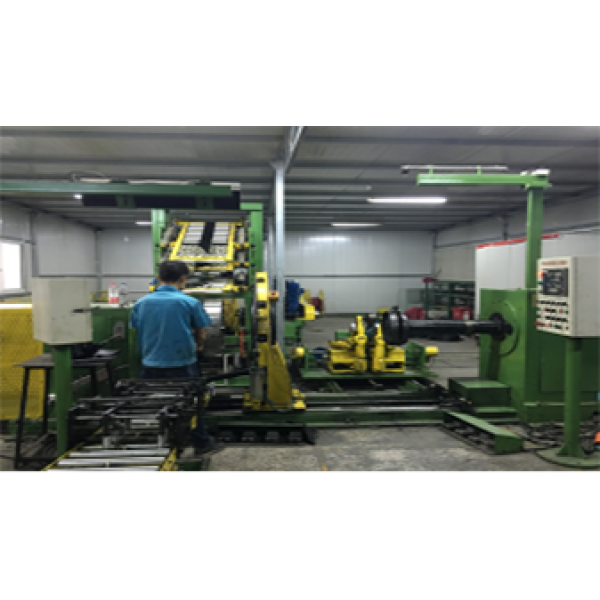 Two stages of LTR tire building machine LCY-1418(first stage)