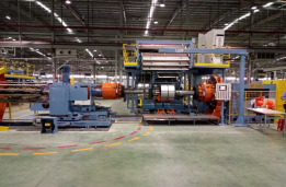 OTR tire building machine (Band ply-up on one machine)