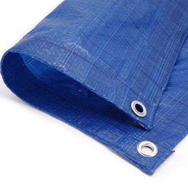 Ultra-Thin Poly Tarps 45 to 50gsm PE Tarpaulin Fabric for Construction Ground Sheet