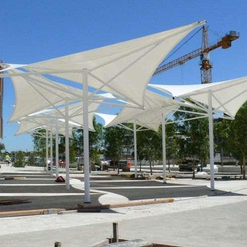 Shade Membrane Structure