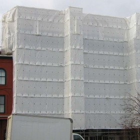 Scaffolding Enclosure / Building Tarps
