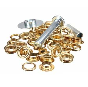 Brass Grommet for Tarpaulin